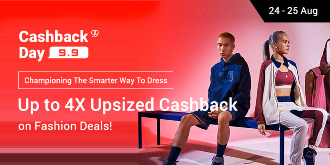 Pre 9.9 Cashback Day Fashion Campaign 24- 25 Aug 2017