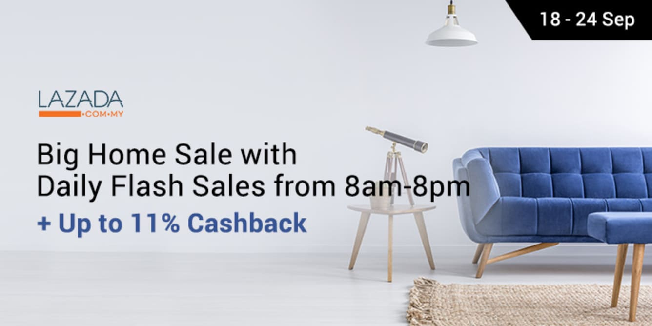 Lazada Big Home Sale