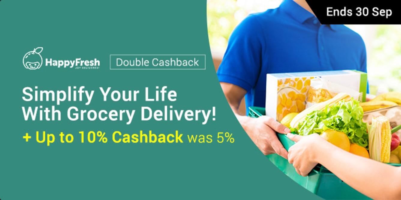 HappyFresh double cashback