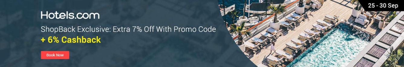 hotels.com exclusive shopback