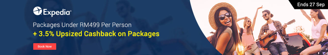 Expedia Packages Upsized