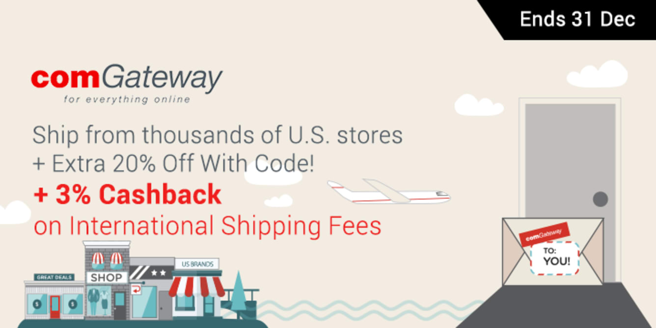 comGateway Cashback | ShopBack