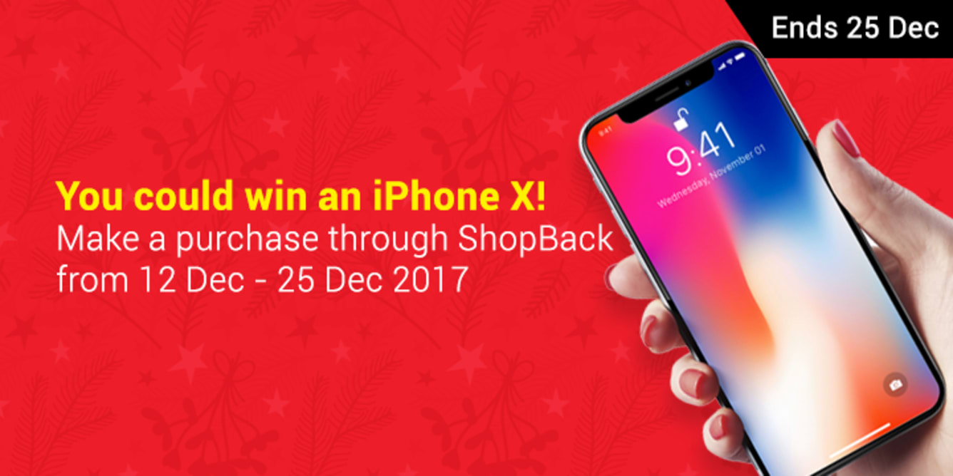 iPhone X Shop & Win Contest | ShopBack