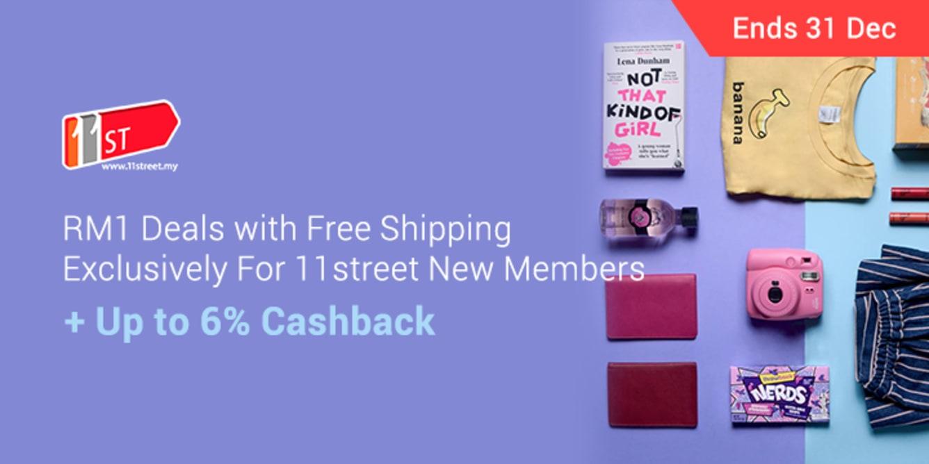 11street RM1Deals | ShopBack