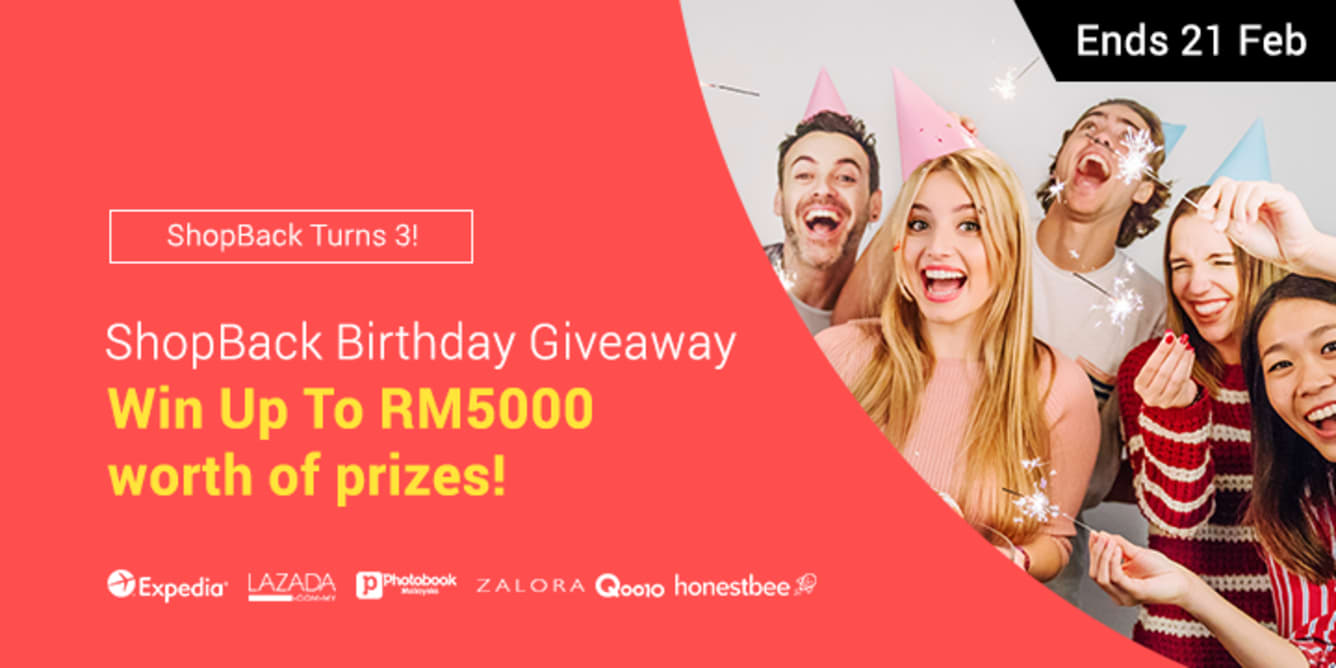 ShopBack Birthday Giveaway - ShopBack