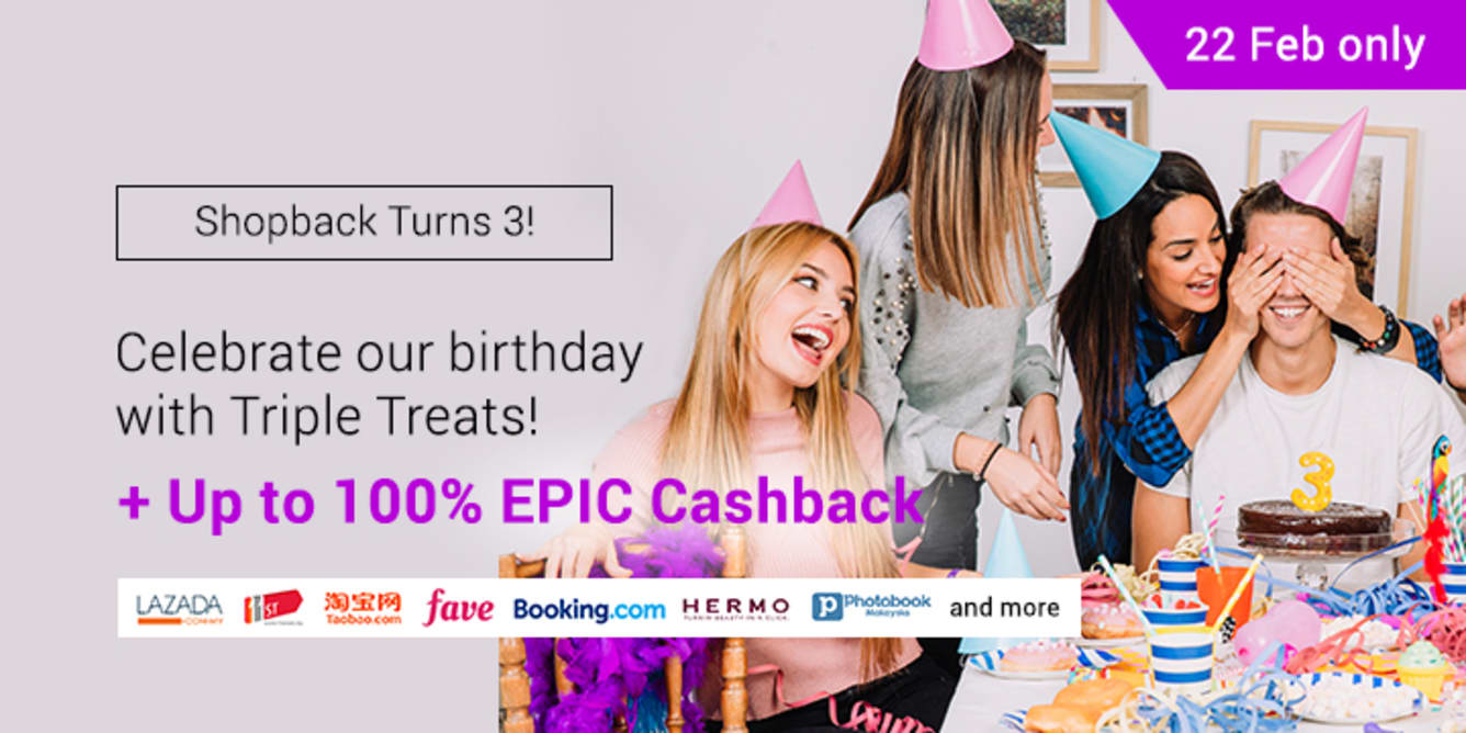 ShopBack Turns 3 teaser