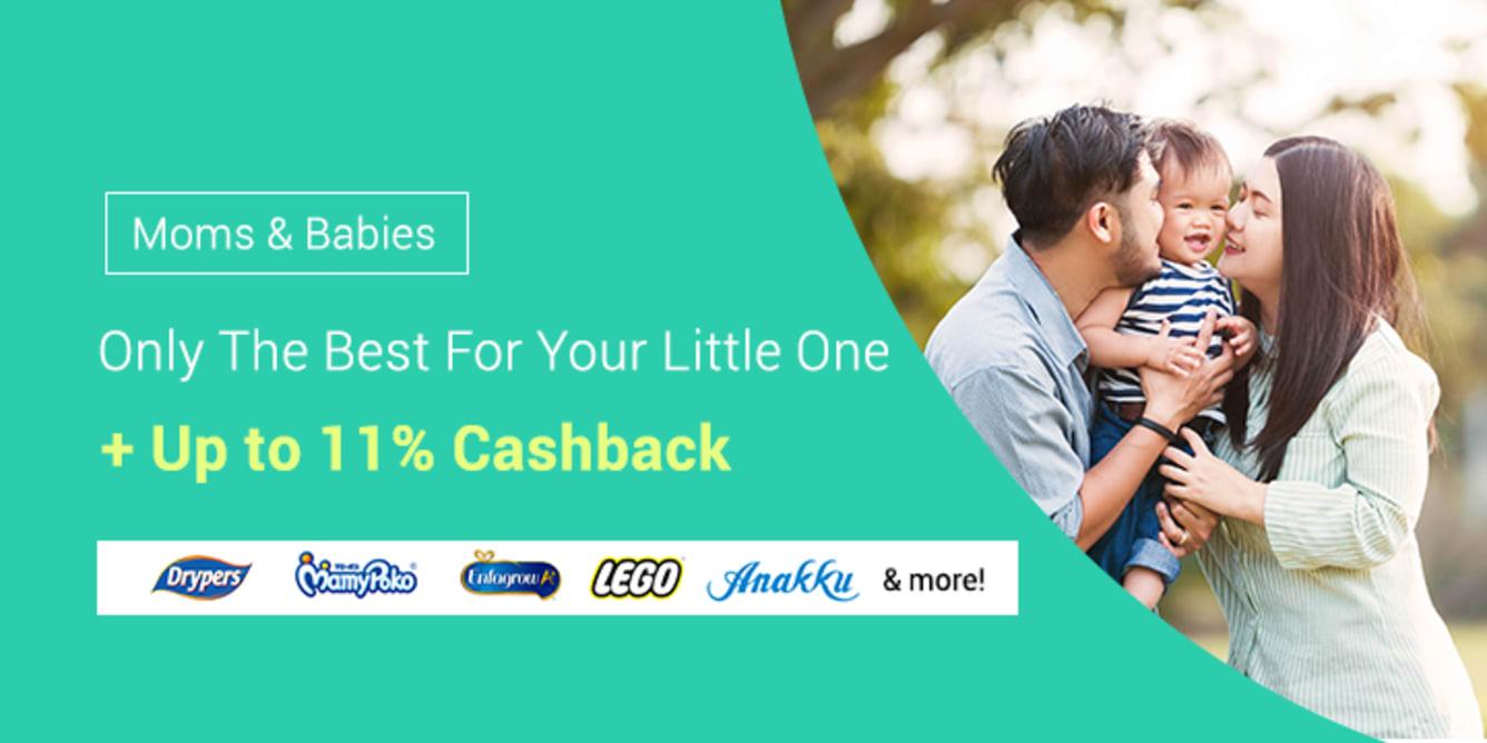Moms & Babies Campaign - ShopBack