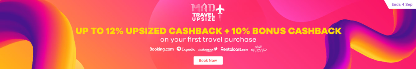 Travel Fair New Customer Bonus Cashback - ShopBack