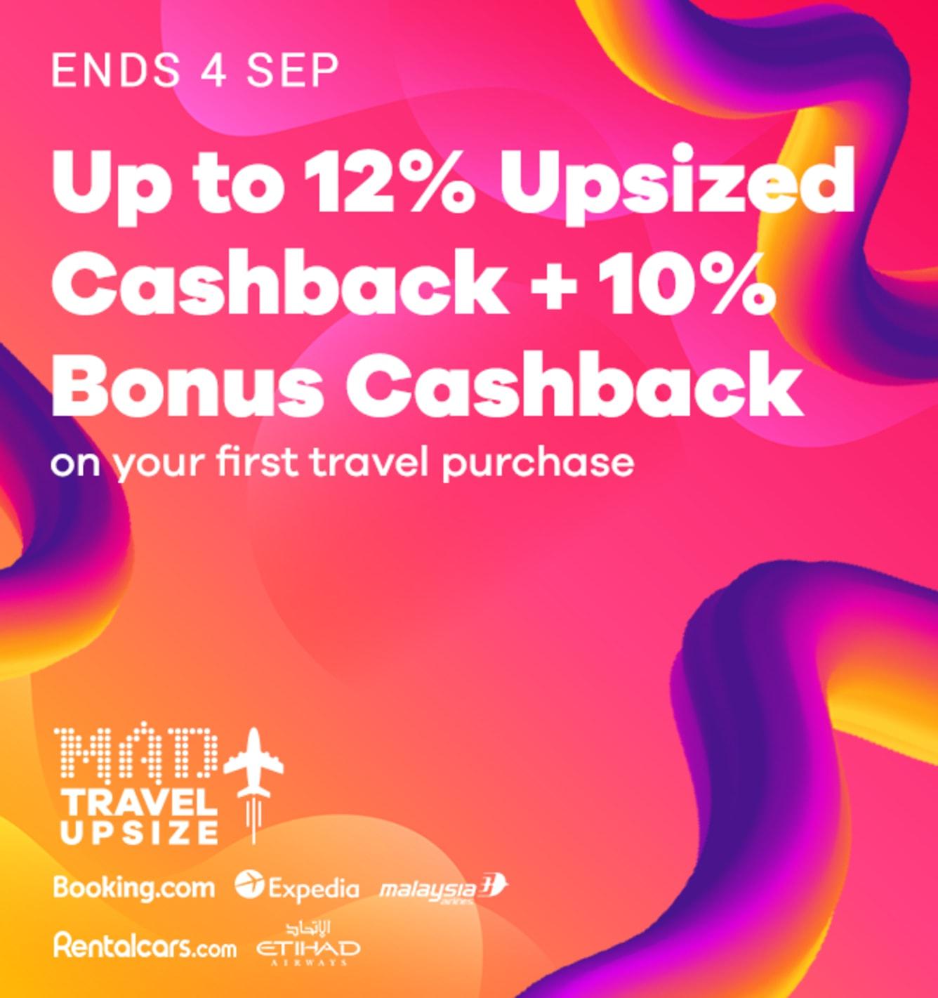 Travel Fair New Customer Bonus Cashback - ShopBack