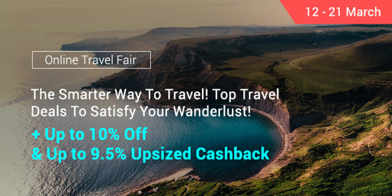 Online Travel Fair 2018 - ShopBack