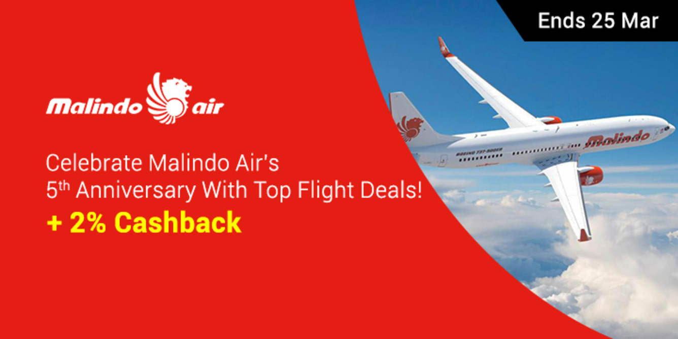 Malindo Air Turns 5 - Fantastic 5 Sale - ShopBack