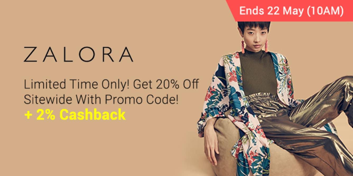 ZALORA #MAYWESHOP Promo Up to 40% Off With Codes - ShopBack