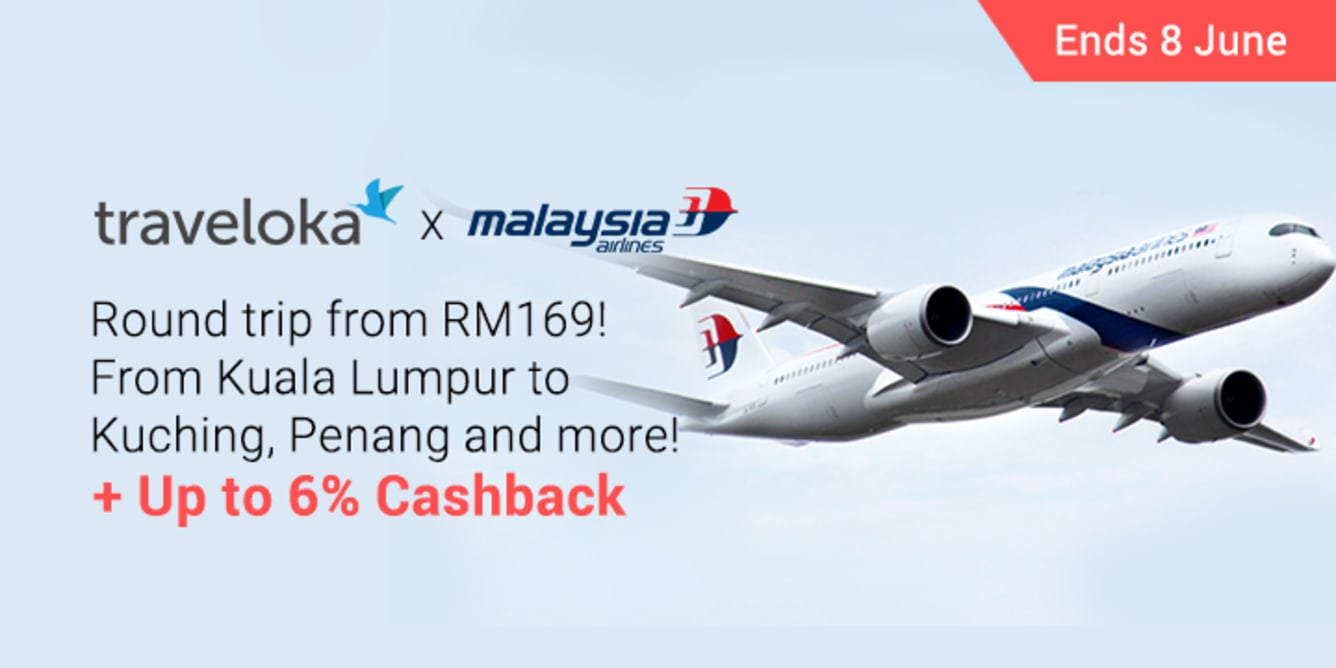 Traveloka x Malaysia Airlines Round Trip Local ShopBack