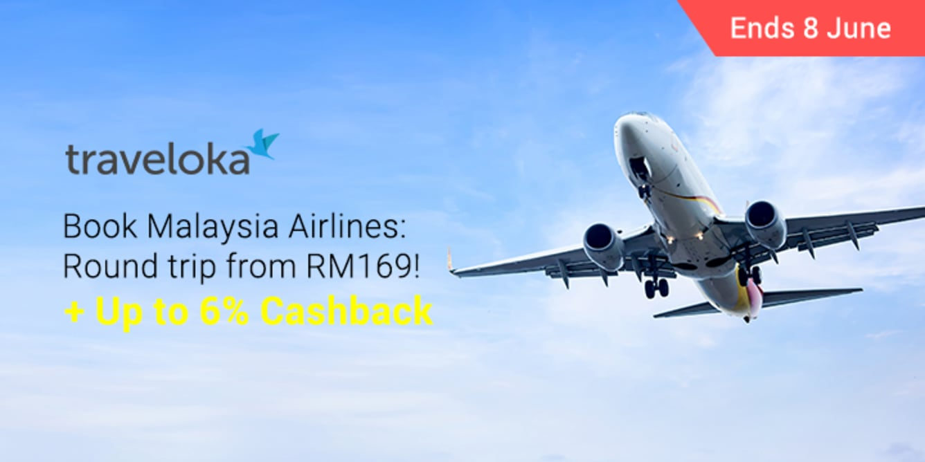 Traveloka x Malaysia Airlines Round Trip Local ShopBack