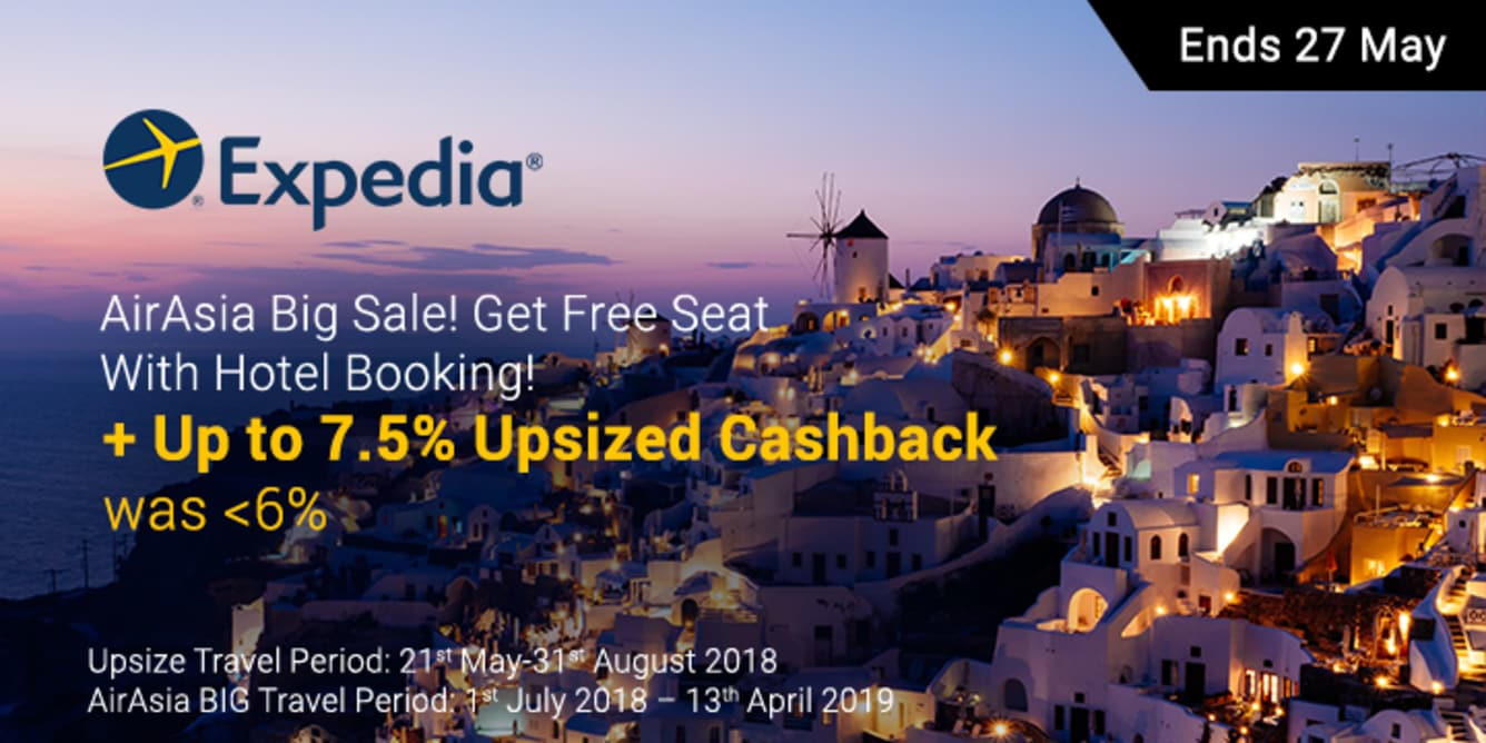 Expedia x AirAsia BIG Sale ShopBack