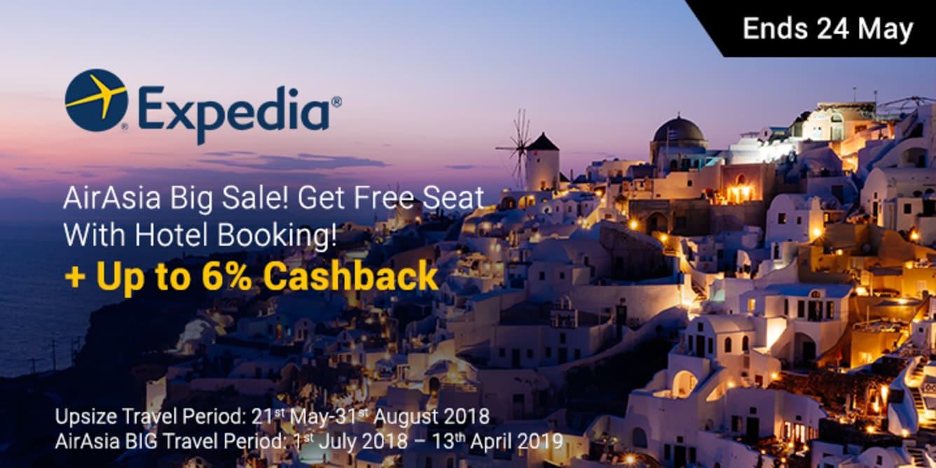 Expedia x AirAsia BIG Sale ShopBack