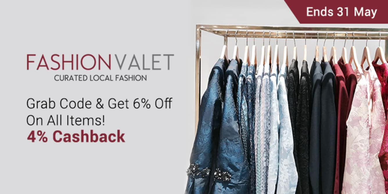 FashionValet 6% Off Sitewide ShopBack