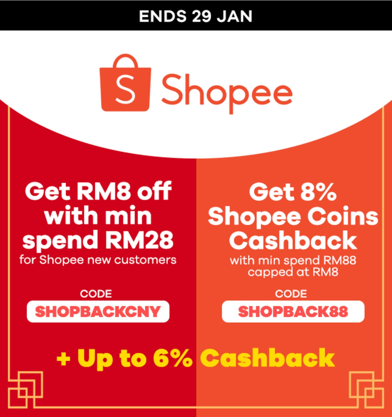 Shopee CNY Sale + Code