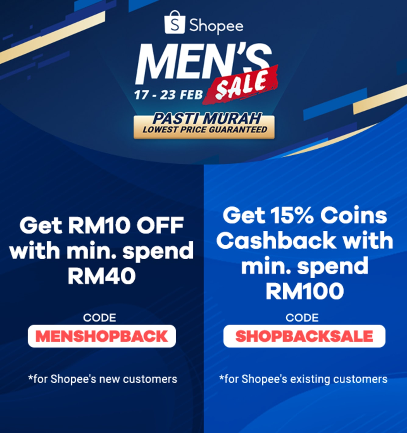Shopee up to 6% Cashback