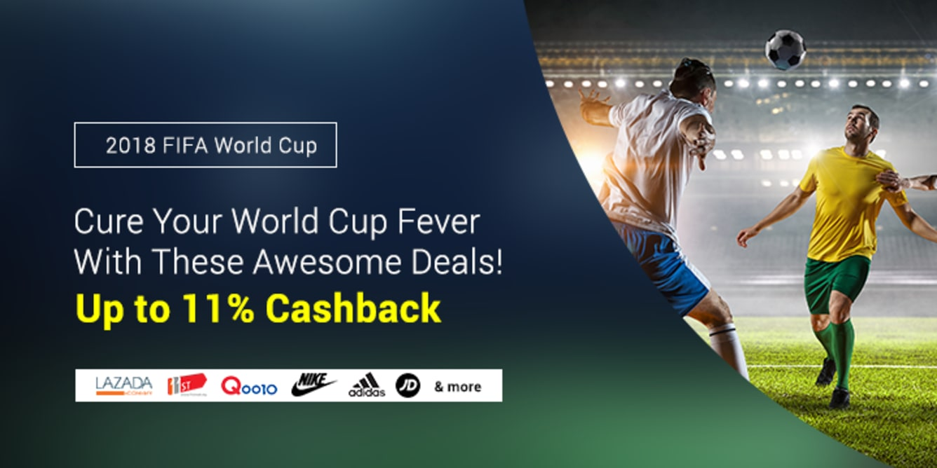 World Cup Essentials FIFA World Cup 2018 Russia ShopBack Get Cashback