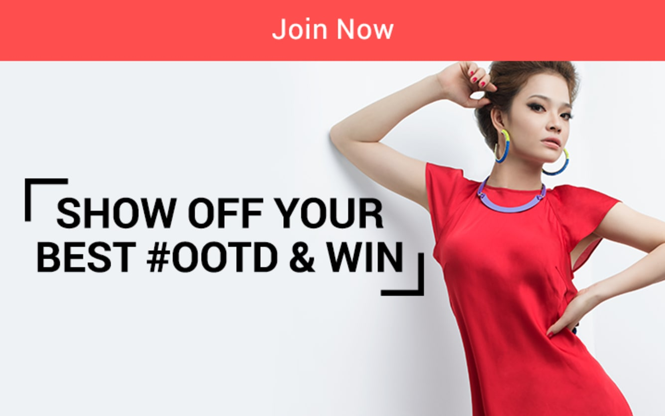 Show Off Your Best OOTD & Win! ShopBack Cashback