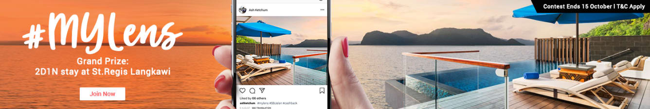 Instagram Travel Contest ShopBack Malaysia September 2018 St Regis Langkawi