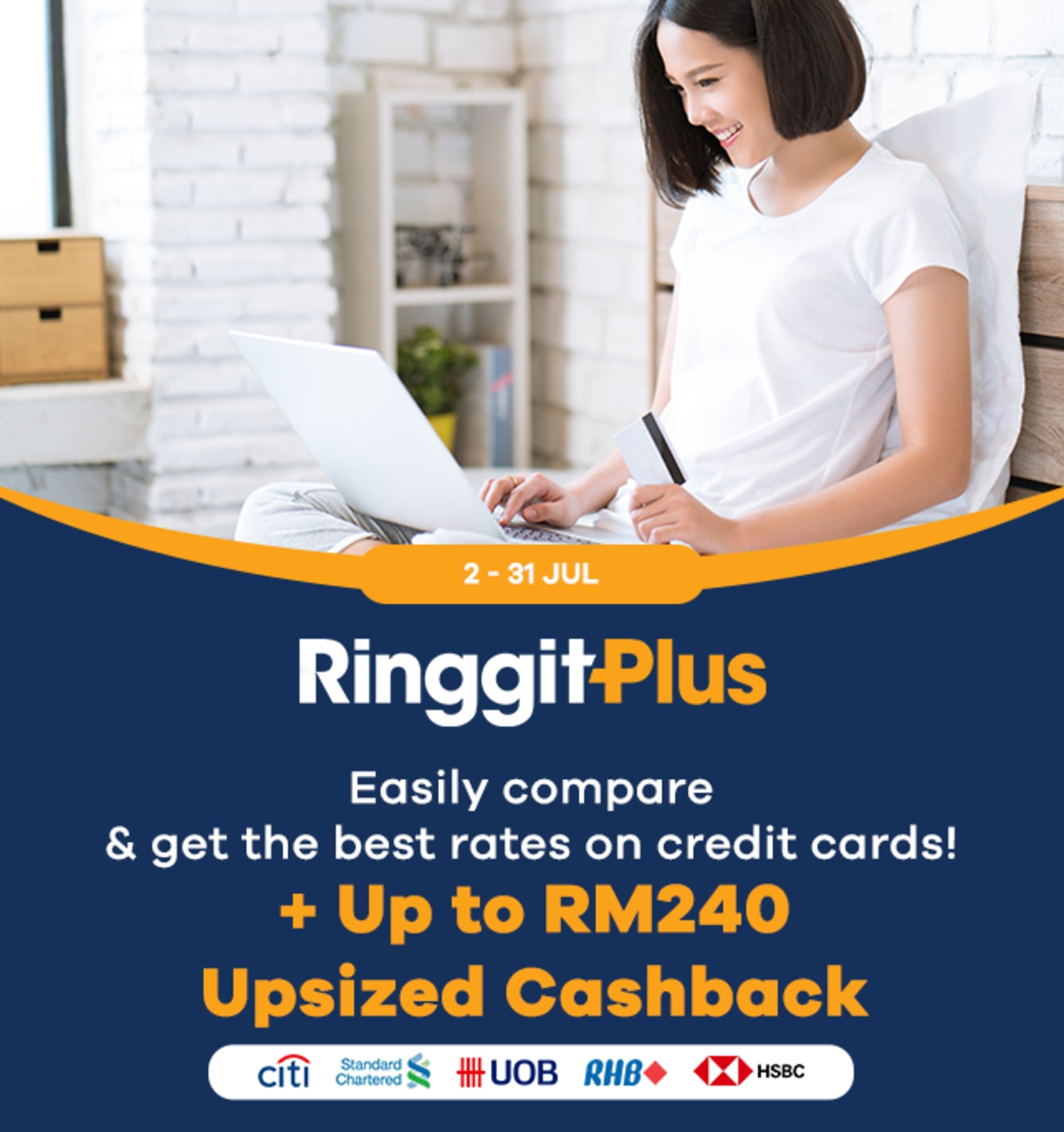 RinggitPlus RM200 Cashback