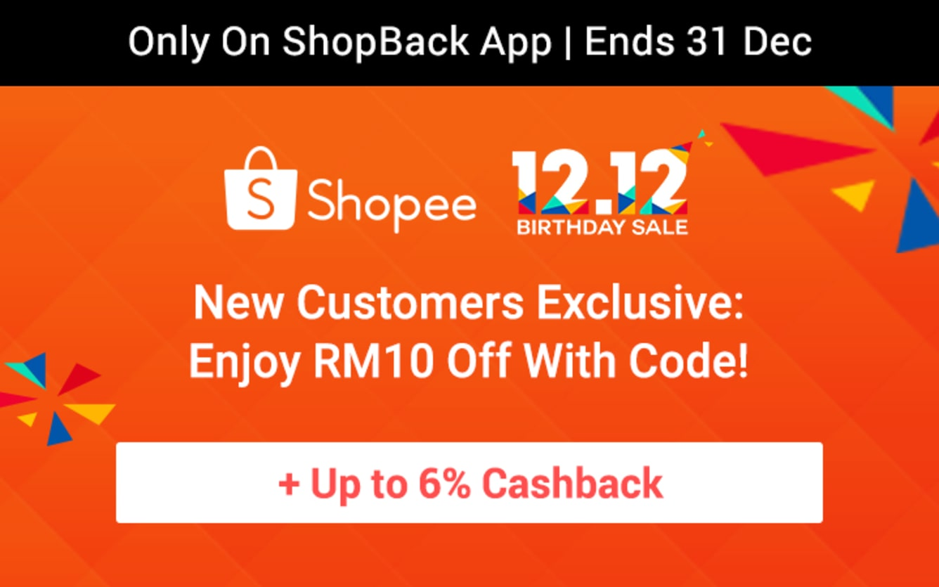 Shopee Prepare For 12.12 Teaser November 2018 Shopback Cashback