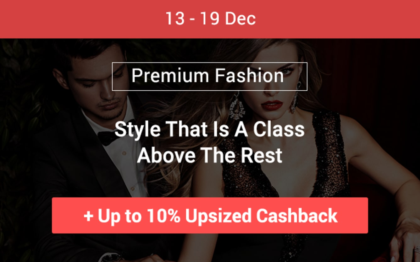 Premium Fashion ShopBack Cashback December 2018