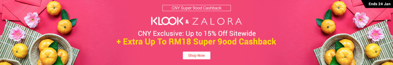 CNY Super 9ood Cashback | 22 - 24 Jan 2019