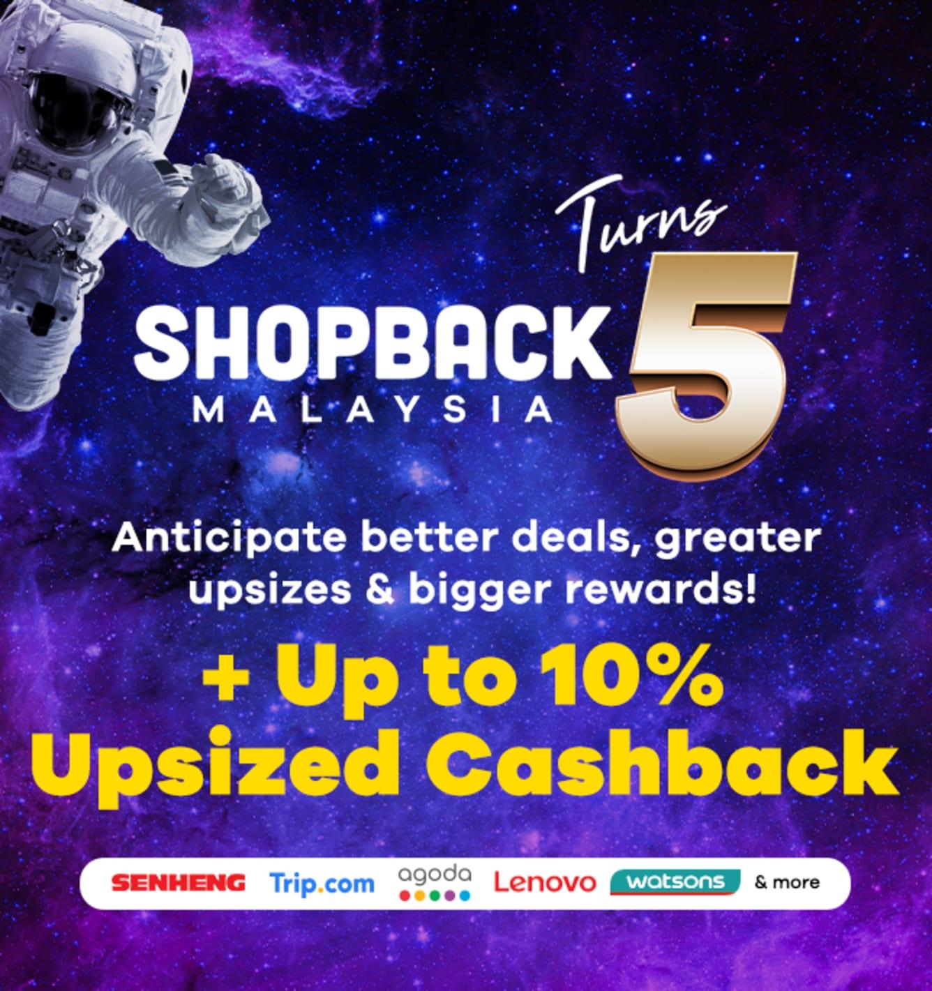 ShopBack Birthday February 2020 Up To 10%