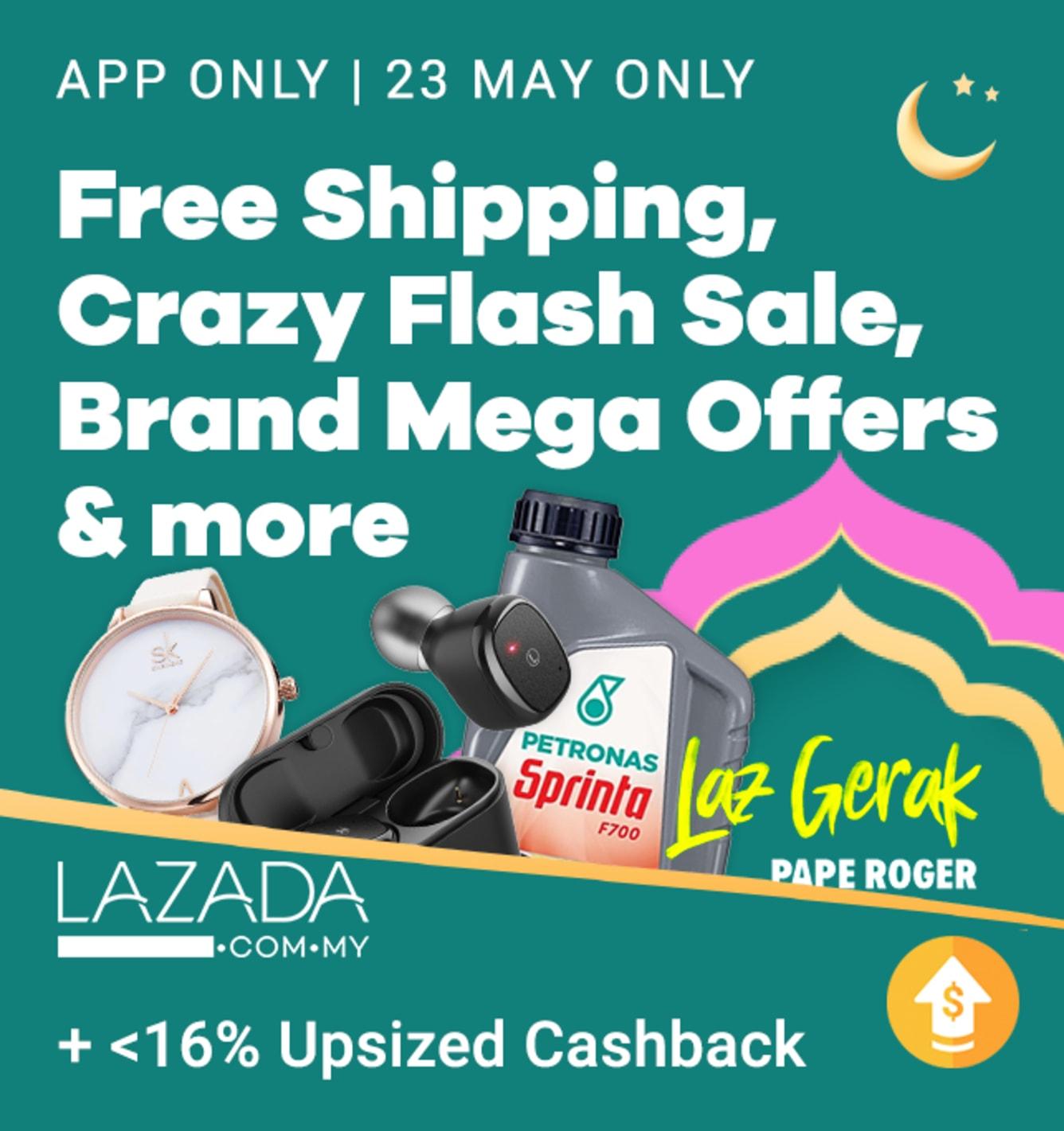 Lazada Raya Mega Sale 2019