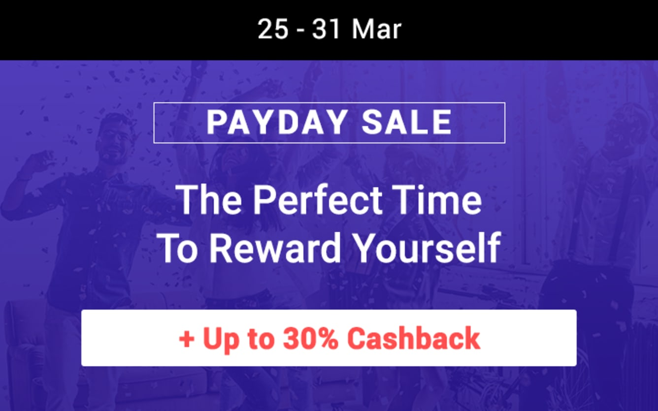 Payday Sale March 2019 ShopBack Cashback