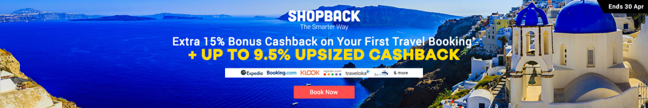 Travel NC Bonus Cashback Apr 2019