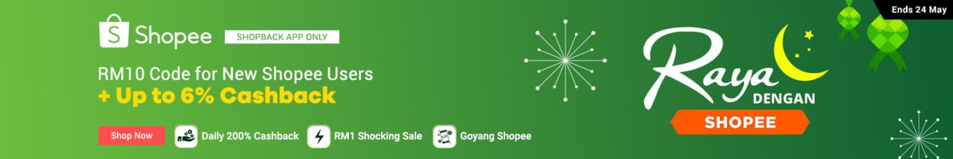 Shopee Big Raya Sale May 2019
