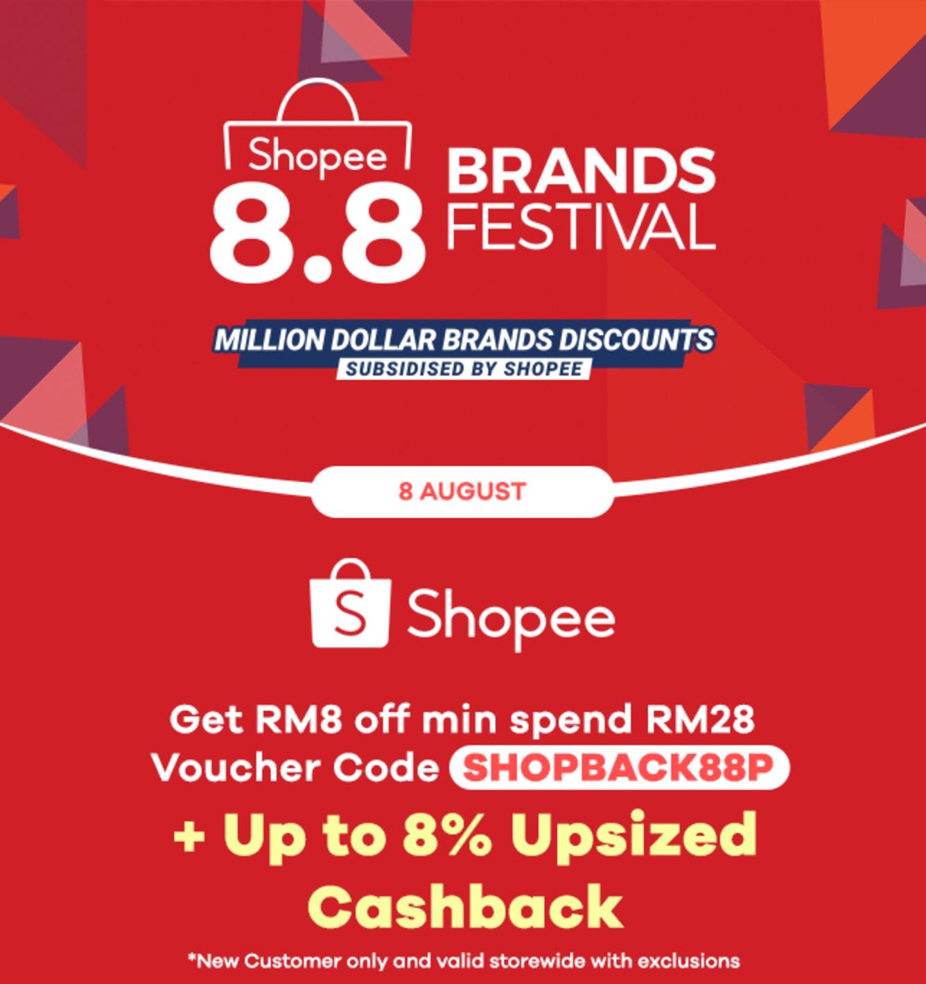 Shopee 3.3 Mega Sale Up to 6% Cashback