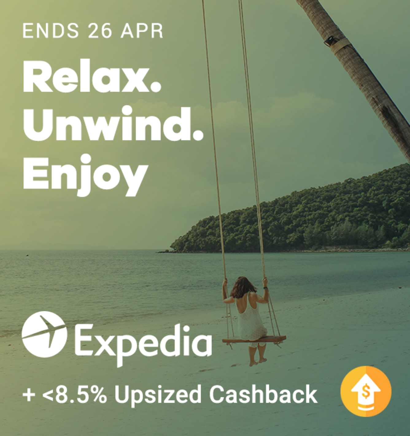 Expedia <8.5% April 2019