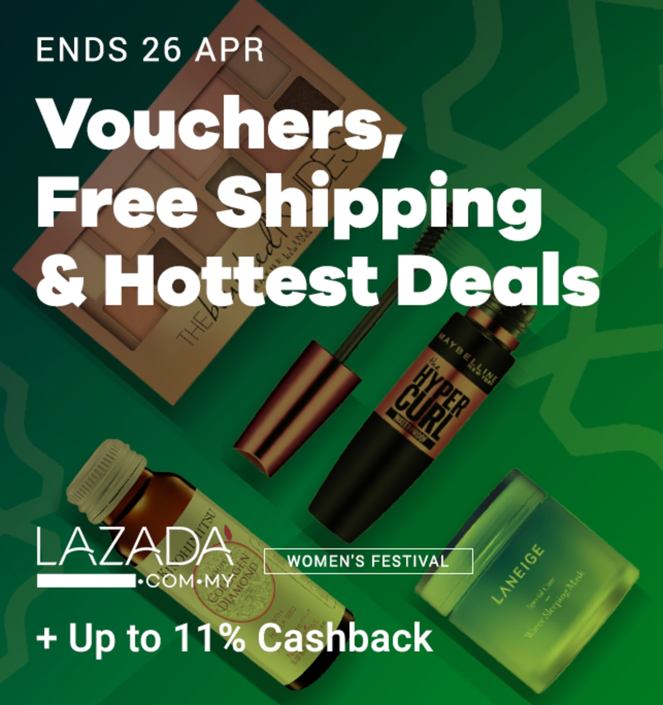 Lazada Women's Festival April 2019