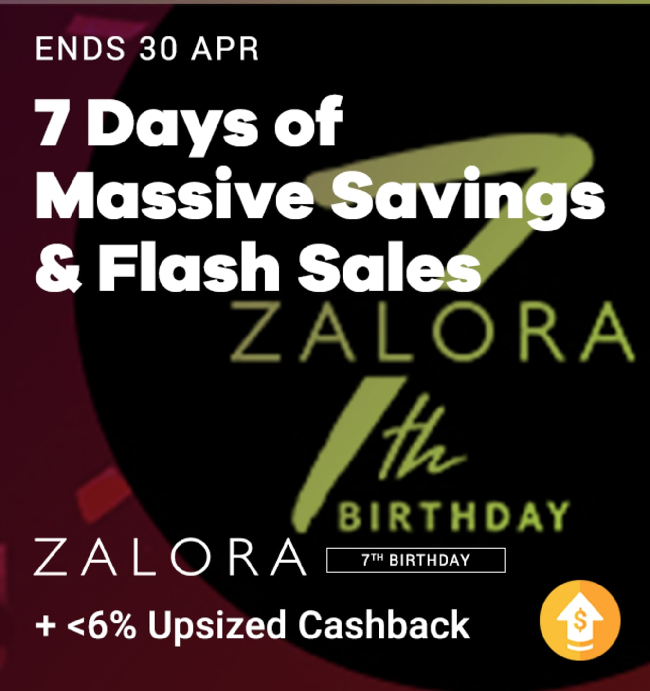 Zalora Birthday April 2019