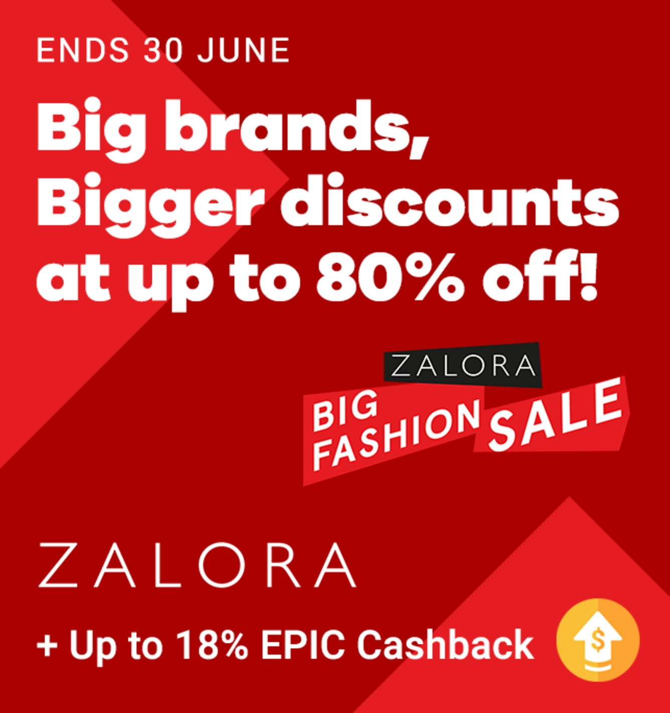 Zalora Sundays Up to 13.5% Upsized Cashback