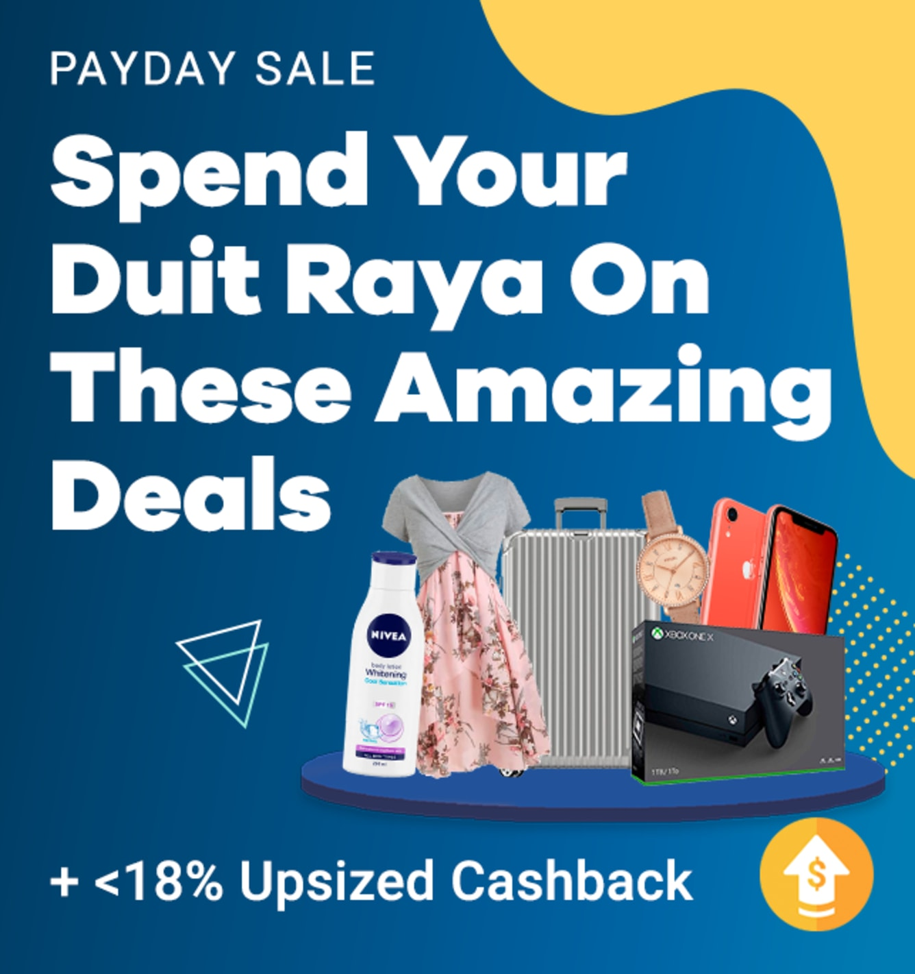 Payday Sales, Offers & Coupons + Cashback