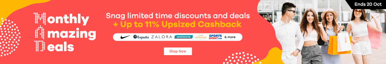 MAD Upsized Cashback Up to 11%