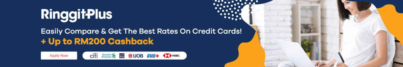 RinggitPlus Launch RM200 Cashback October 2019