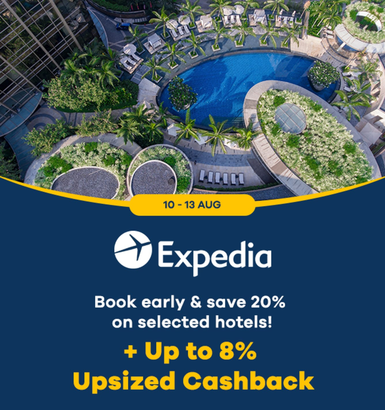 Expedia: Up to 7.5% Upsized Cashback