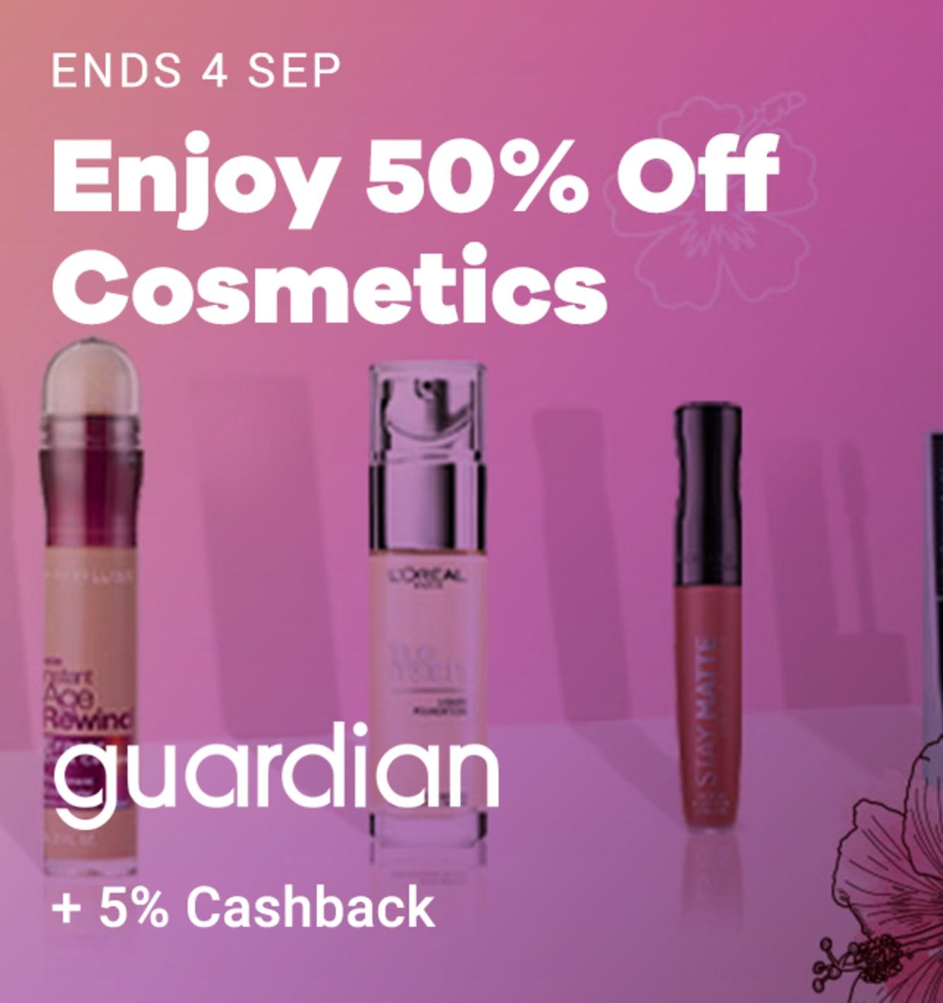 Guardian: 5% Cashback