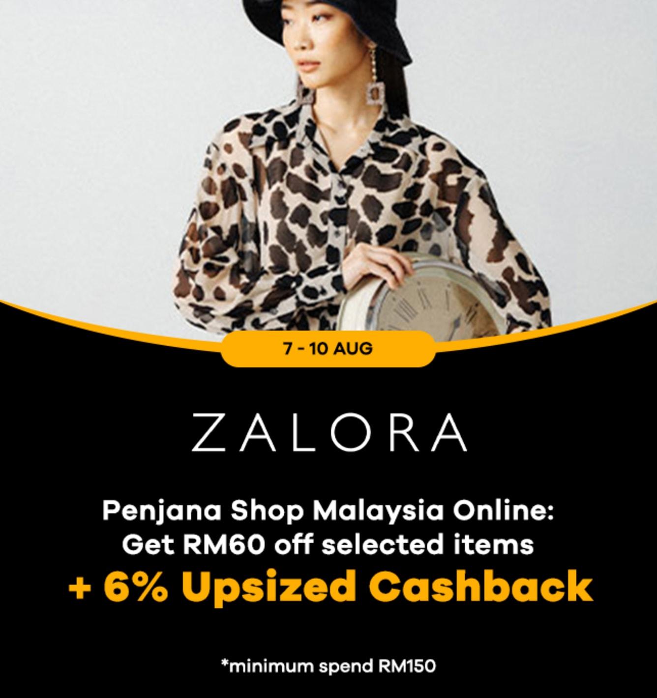 Zalora 12% Upsized Cashback Shopback