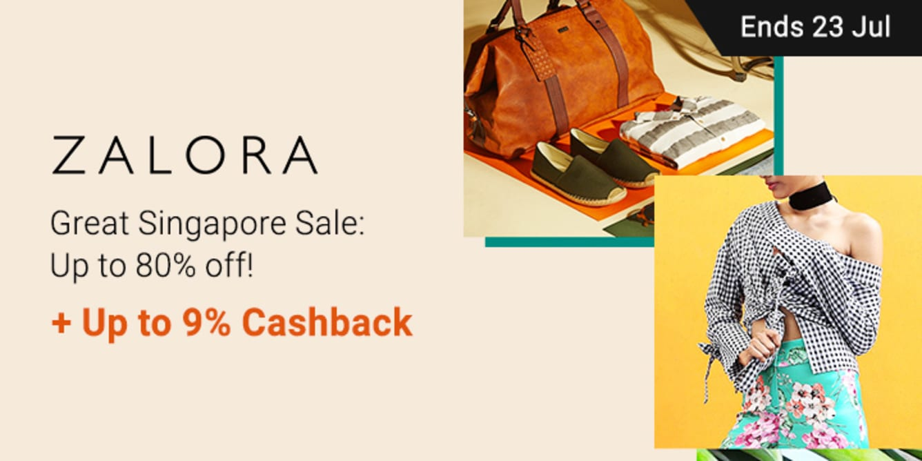 Zalora GSS: Up to 80% off