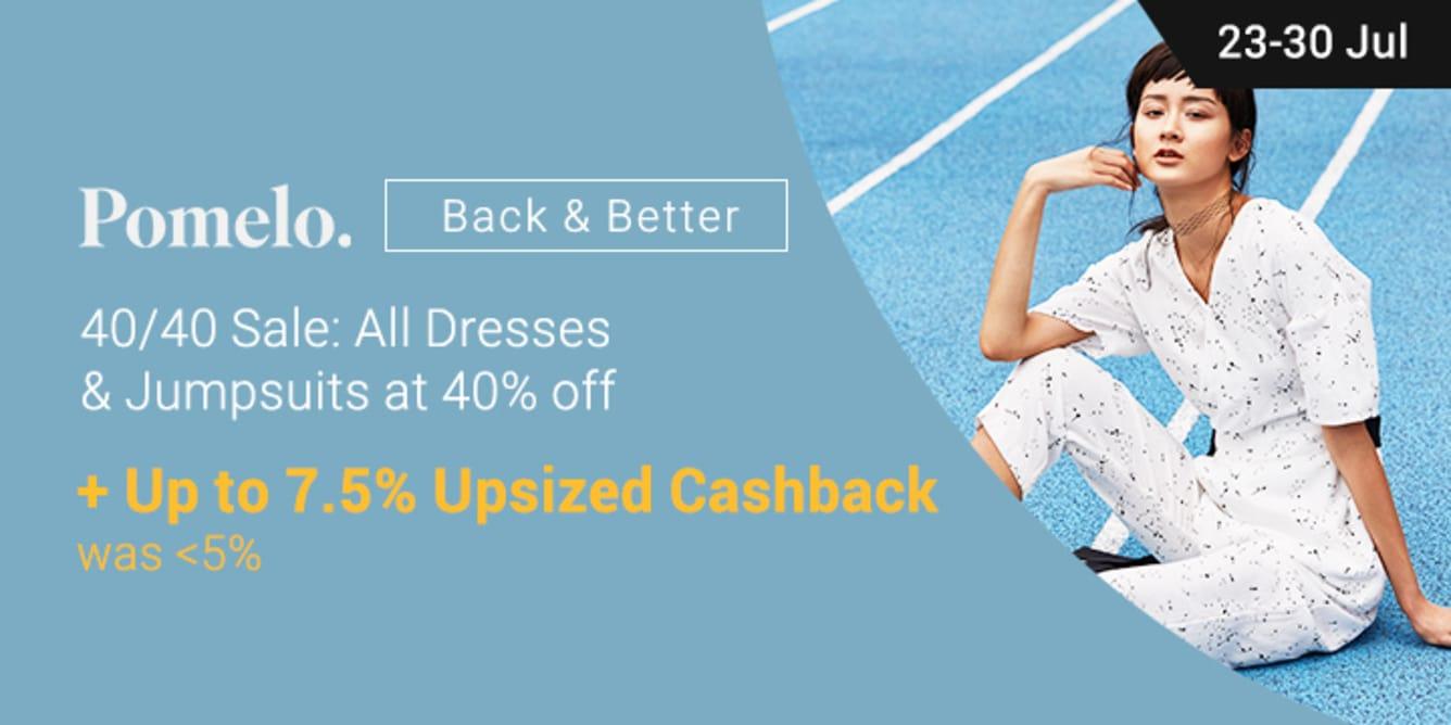 Pomelo up to 7.5% Cashback