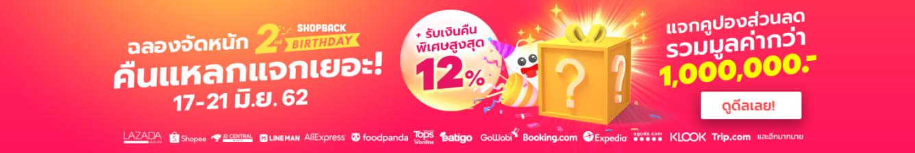 ShopBack Birthday JUN 19