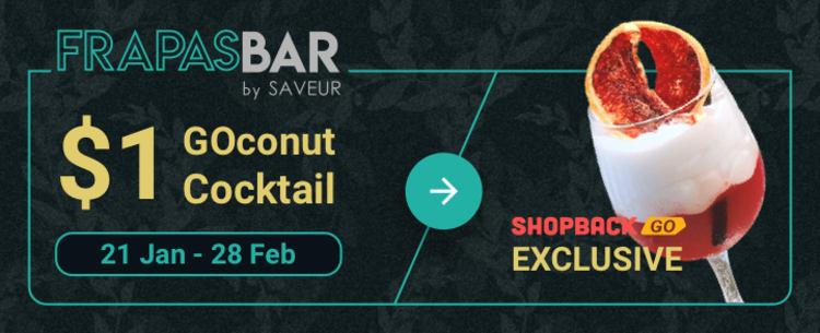 Frapasbar by Saveur $1 GOconut